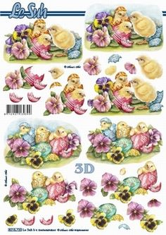 Le Suh Cut out sheet Easter - Easter
