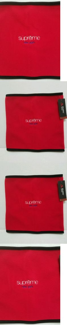 Hats and Headwear 62175: Supreme Fleece Neck Gaiter Red Polartec Scarf Free Shipping -> BUY IT NOW ONLY: $65 on eBay!