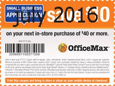 Office Max Coupons Ends of Coupon Promo Codes MAY 2020 ! The Feuer executive president. founded whose the executive officer and perso. Free Printable Coupons, Office Depot, Printables, February 2016, Hot, Print Templates