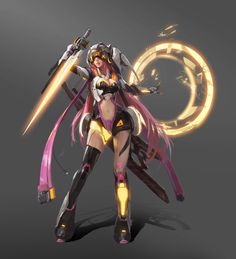 ArtStation - ROBO girl, Linger FTC