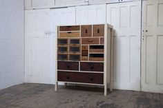 Another awesome bureau made from salvaged drawers