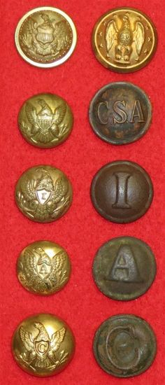 Dating old military buttons