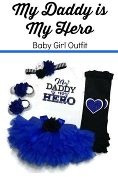 Perfect for my LEO baby Baby Girl Gifts, Baby Girls, Police Outfit, Police Wife, Black Chevron, Glitter Vinyl, Thin Blue Lines, Girls Hair Accessories, Elastic Headbands