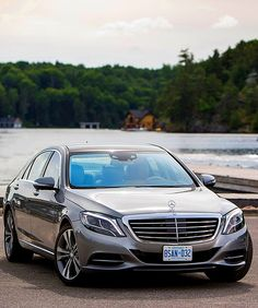Mercedes Benz S550! with black leather interior and sunroof! I can so see my hands wrapped around the steering wheel right now, smell the leather and hear John Coltrane coming out of the speakers. :-)