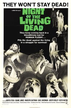 The first zombie flick is still my favorite. It doesn't watch like a horror film of hat era, ahead of its time in many many ways. Always a worthwhile watch.