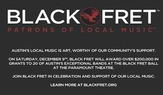 http://blackfret.org Black Fret is dedicated to good music, good times and the sustainable success of Austin's local musicians.