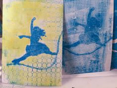 gelatin print on paper