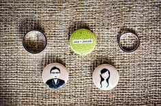 Modern Vintage | Inspiration for the Modern Woman with a Vintage Flair: Charming Wedding Buttons