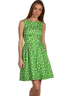 I need a friend to throw a garden party so I can wear this!!  Sonja Dress in sprout/cream  Kate Spade New York