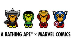 A Bathing Ape x Marvel Comics – The Avengers 2012 Collection