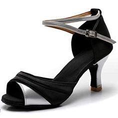 TRIWORIAE Chaussures de Danse Latine Talons Hauts Sandales