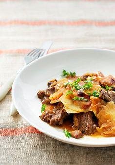NAMI-NAMI: a food blog: Beef and Beer Oven Stew aka Finnish Merimiespata