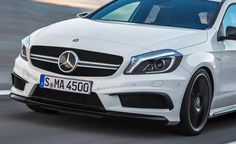 Mercedes CLA45 AMG Specifications Previewed in A45 AMG. For more, click http://www.autoguide.com/auto-news/2013/02/mercedes-cla45-amg-specifications-previewed-in-a45-amg.html