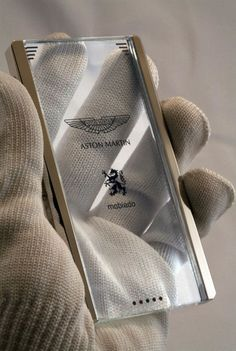 The transparent Aston Martin android phone.