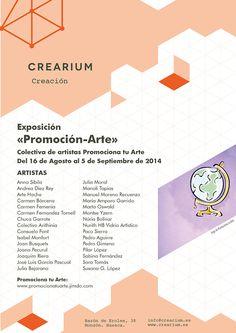 Crearium - Exposición colectiva «Promoción-Arte»
