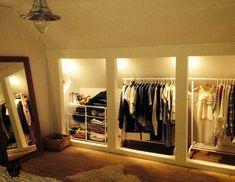 10 Easy And Cheap Unique Ideas: Attic Staircase Interiors open attic bathroom.Cr… Check mor… – home diy organizations Attic Storage, Closet Storage, Bedroom Storage, Bedroom Decor, Closet Organization, Storage Organization, Garage Storage, Bedroom Ideas, Storage Spaces