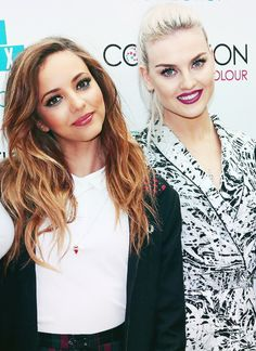Jade Thirlwall and Perrie Edwards