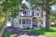 475 Carleton Ave, Glen Ellyn, IL Sit on the covered front porch and enjoy the evenings! Walk to everything! 4 BR/3+ Bath with open floor plan. $799,900.