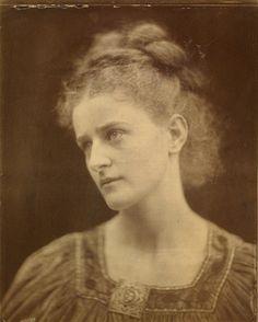 Egeria, Julia Margaret Cameron, 1874