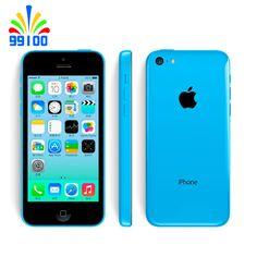 Original 100%  Apple iPhone 5C Unlocked Dual Core cell phone 8GB/16GB/32GB ROM WCDMA 3G used phone //Price: $131.00 & FREE Shipping //     #beauty