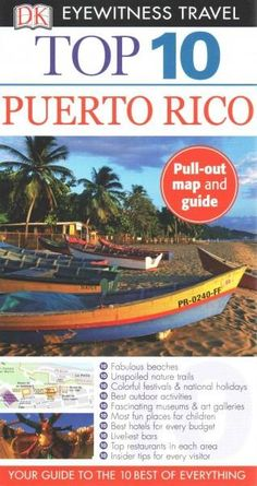 Dk Eyewitness Top 10 Puerto Rico, Brown