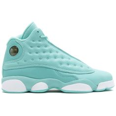 """air jordan 13 retro sngl dy gg (gs) """"single day"""" ❤ liked on Polyvore featuring shoes"""