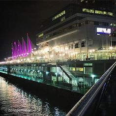 By @helloguanster Canada Place looking pretty in pink for Anti-Bullying Day! #PinkItForward #mustbevancouver #vancouver