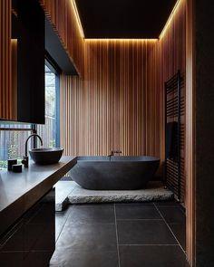 Well hello there dark & handsome. @artsytecture #scandinavian #interior #homedecor #simplicity #bathroom