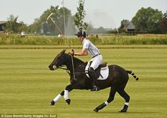 The jovial day certainly proved to be a means of relaxation for the Prince, who routinely ...
