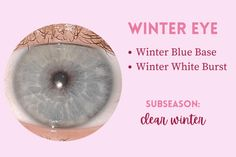 Light Spring, Warm Spring, Summer Eyes, Clear Winter, Seasonal Color Analysis, Eye Pattern, Soft Autumn, Winter Colors, Season Colors
