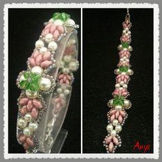 Superduo-tekla-swarowsky beads