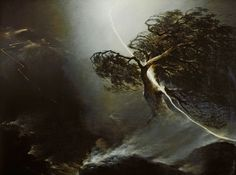 Vorobyev, Maksim Nikiforovich TheOak Shattered by Lighting 1842