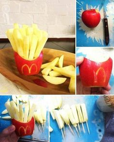 Apple fries! Lol