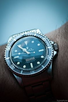 #Rolex Submariner 5512 like .. repin .. comment :) http://amzn.to/X1nbG9