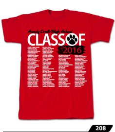 A selection of our class list designs. Get your class names printed with cool designs onto tees and hoodies! Senior Class Shirts, Class List, Cool Designs, Shirt Designs, Mens Tops, T Shirt, Tee Shirt, Tee