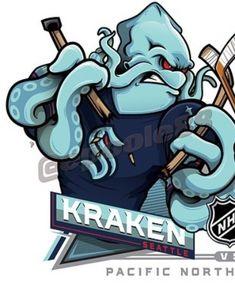 Hockey Logos, Sports Logos, Sports Teams, Nhl, San Jose Sharks, National Hockey League, Kraken, Ice Hockey, Ranger