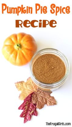Pumpkin Pie Spice Recipe!