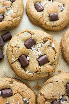 Greek Yogurt Chocolate Chunk Cookies