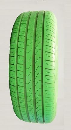 Spring green tire. Especially made by Good Year for St. Patrick's Day. Ah the luck of the Irish ! Erin Go Bragh !!