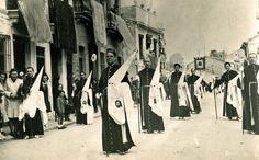Imagen retrospectiva de la Semana Santa Marinera. :: archivo Semana santa marinera