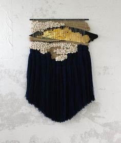 Weaving made by Janelle Pietrzak.