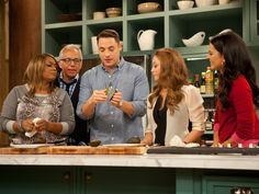 Behind the Scenes of The Kitchen - FoodNetwork.com I love the kitchen set