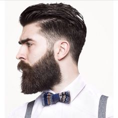Chris Millington men's fashions beards