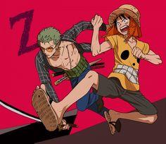 Tags: Anime, Pantu555, ONE PIECE, ONE PIECE Film Z, Monkey D. Luffy, Roronoa Zoro, Straw Hat