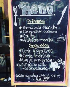 El menú de esta semana en #tascamanete #navarra15 #castellon