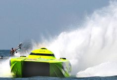 Miss Geico Mystic Offshore Powerboat