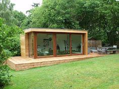 Personal Garden Gym, Outdoor Gym Buildings UK, Exercise Studios | The Garden Escape