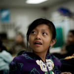 The Latino Education Gap: Not Quite Trilingual  First in a series of Fronteras stories on the Latino education gap, and the move toward innovation in the classroom.