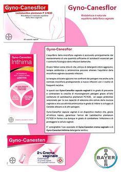 Gyno-Canesflor: ristabilisci la flora batterica  vaginale www.farma-natura.it www.farmanaturashop.it
