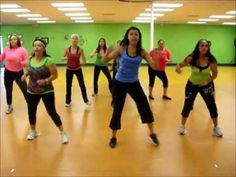 Up tempo routine: Zumba® Fitness with Jasmine: La cumbia Tribalera